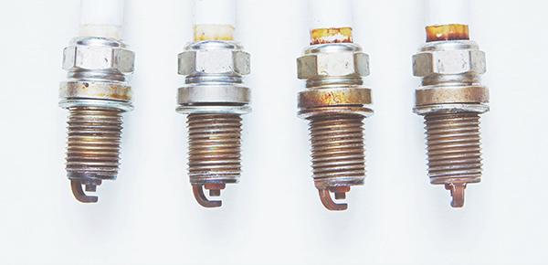 reading spark plugs color champion auto partsOhv Engine Diagram Spark Plugs Front Back #1