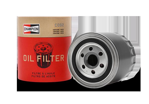 Champion oil filter cut open