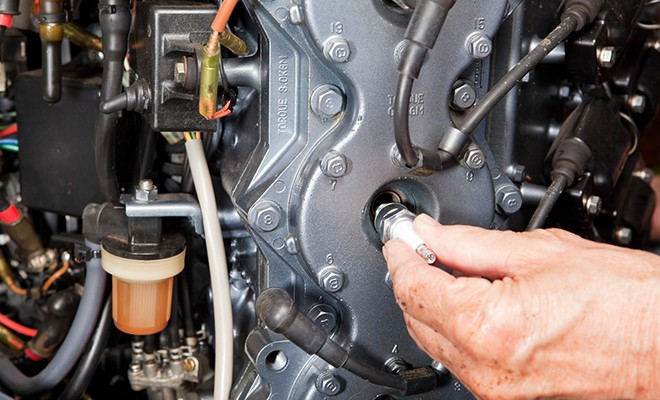 Symptoms Of Bad Marine Spark Plugs | Champion Auto Parts on bad condenser symptoms, bad pitman arm symptoms, bad alternator symptoms, bad starter solenoid symptoms, bad camshaft symptoms, bad ignition module symptoms, bad flywheel symptoms, bad engine mount symptoms, bad brake booster symptoms,