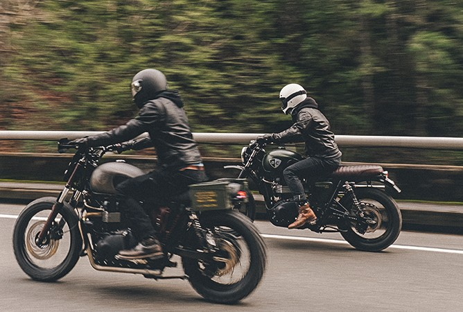 Motorcycles-On-The-Road
