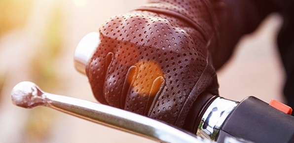 Motorcycle-Brake-Lever-Close-Up