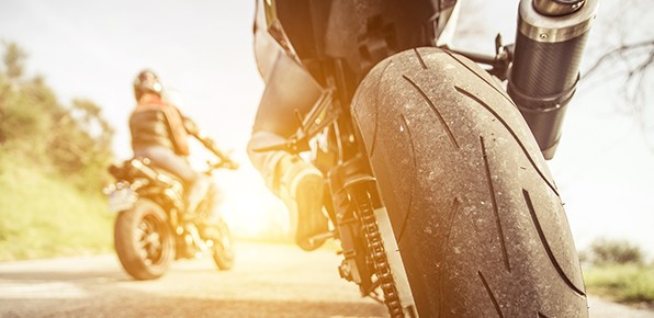 Motorcycle-On-Road-Wheel-Close-Up