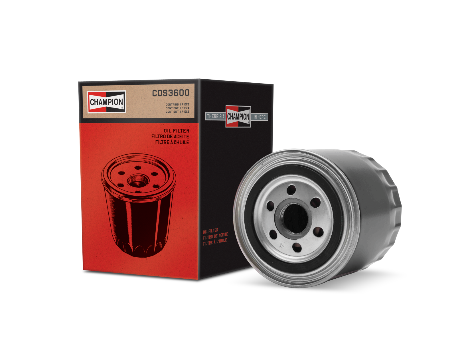 Engine Oil Filters for Cars & Trucks | Champion Auto Parts