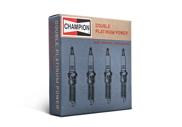 package view double platinum spark plug by champion