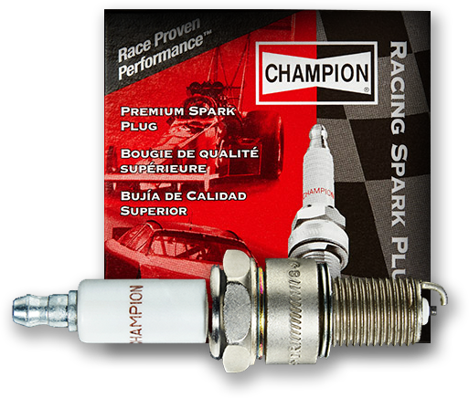 performance spark plug by champion