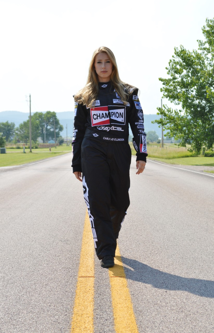 NA_WBI_CH_Behind The Wheel Carly Jo Ellingson Race Suit